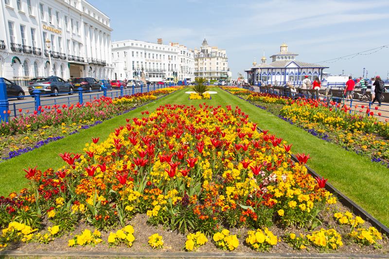 Séjour linguistique Angleterre, Eastbourne - Carpet Gardens