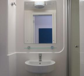 Sprachaufenthalt Engaland, Canterbury - Stafford House Canterbury - Accommodation - Summer Residence - Badezimmer