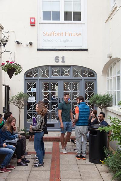 Sprachaufenthalt Sprachreise Englisch England in Brighton Stafford House