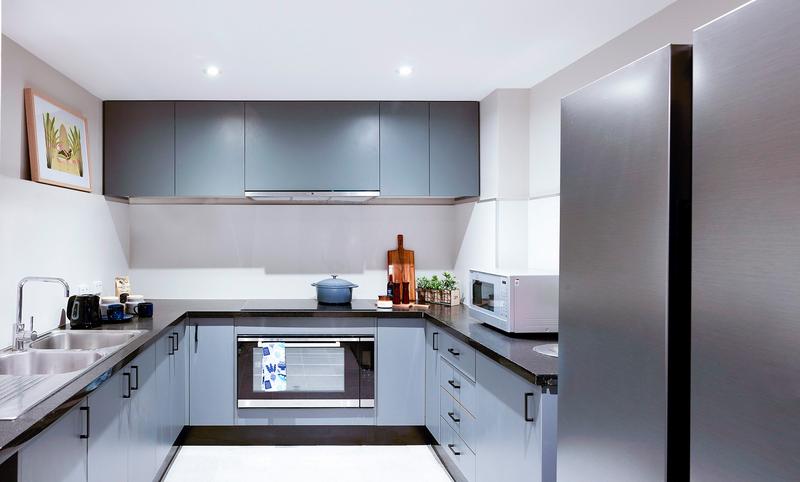 Sprachaufenthalt Australien, Melbourne - Discover English Melbourne - Accommodation - Apartment IGLU Studio - Küche
