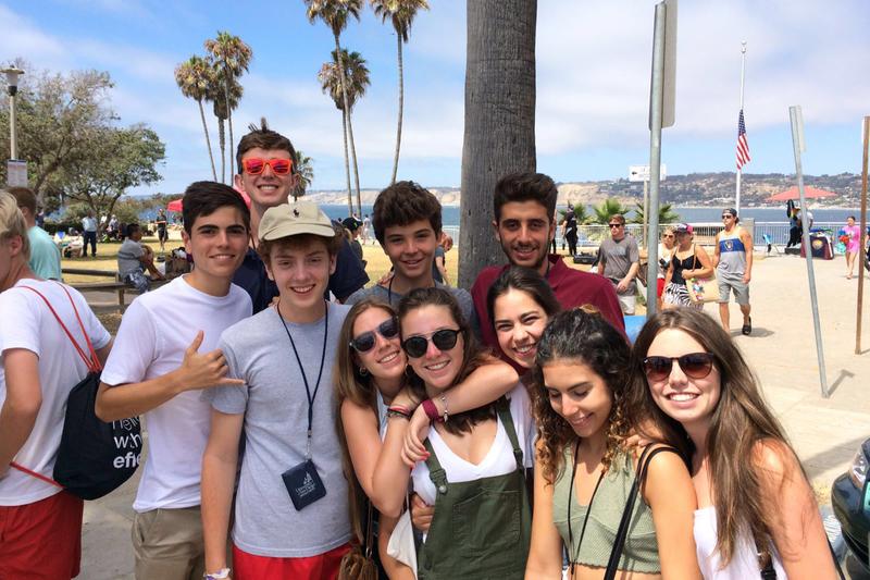 Sprachaufenthalt USA, San Diego - Converse University of San Diego - Studenten