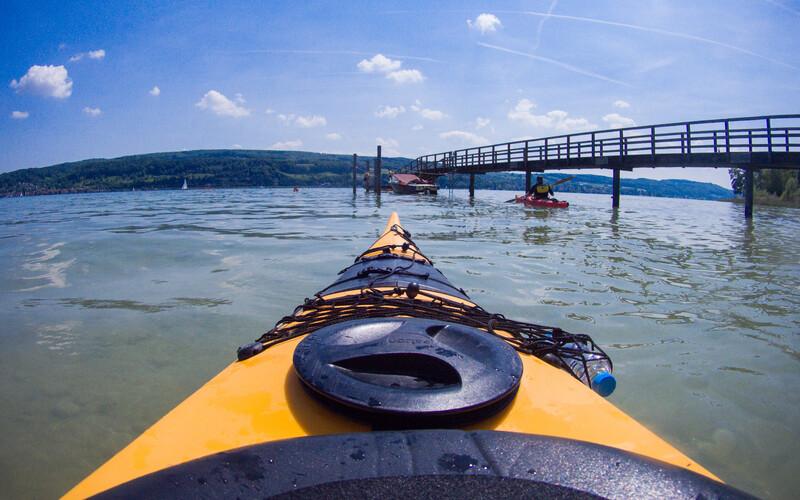 Sprachaufenthalt Deutschland, Radolfzell am Bodensee - Kajak