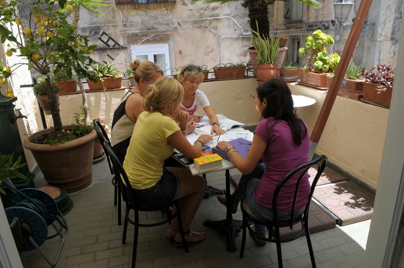 Séjour linguistique Italie, Tropea - Piccola Università Italiana Tropea - Balcon