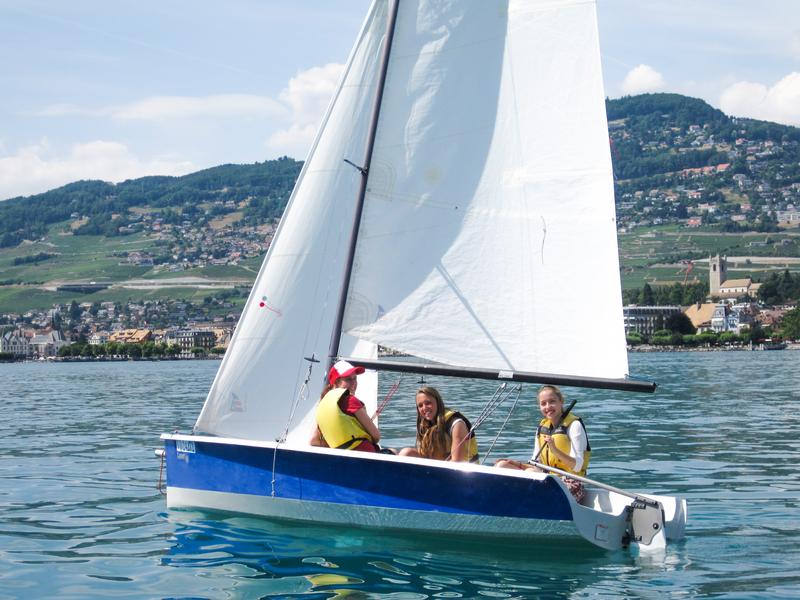 Séjour linguistique Suisse, Montreux - Alpadia Language School Montreux Riviera - Voile