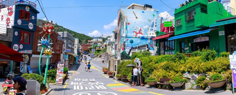 Séjour linguistique Corée du sud, Busan - Gamcheon
