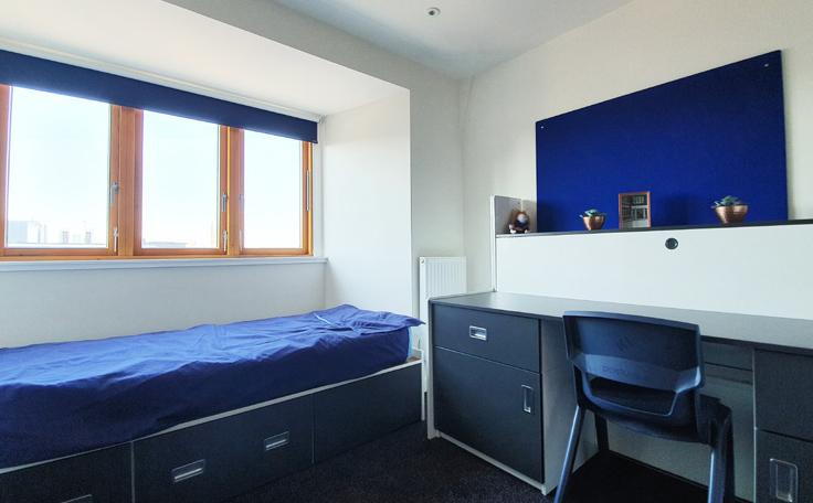 Sprachaufenthalt England, Canterbury - Stafford House Canterbury - Accommodation - Holmes House - Schlafzimmer
