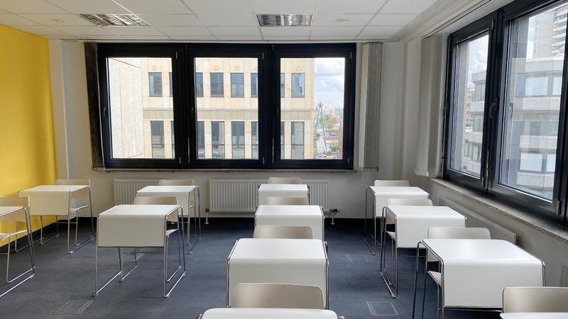 Sprachaufenthalt Deutschland, Frankfurt - DID Deutsch Institut Frankfurt - Klassenzimmer