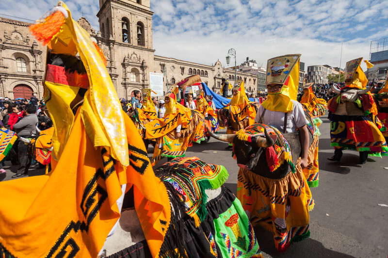 Séjour linguistique Bolivie, Carnaval
