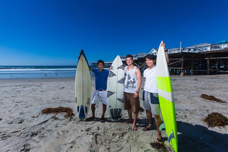 Sprachaufenthalt USA, San Diego - CEL Pacific Beach - Surfen