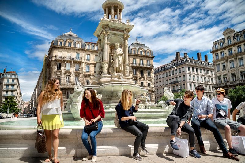 Sprachaufenthalt Frankreich, Lyon - Studenten