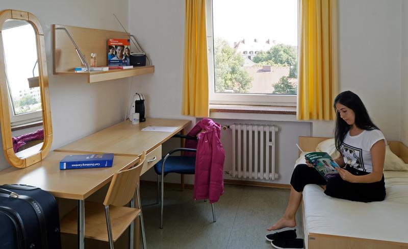 Sprachaufenthalt Deutschland, München - Carlduisberg Centren Munich - Accommodation - Apartment - Zimmer