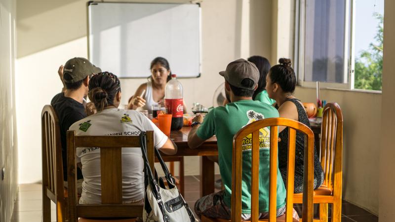 Séjour linguistique Équateur, Montanita - Montanita Spanish School - Leçons