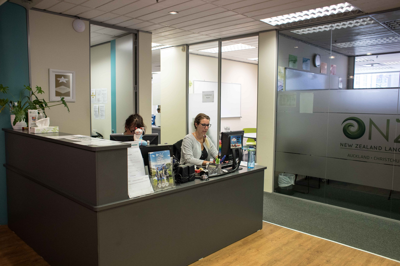 Séjour linguistique Nouvelle Zélande, Wellington - NZLC Wellington – Réception