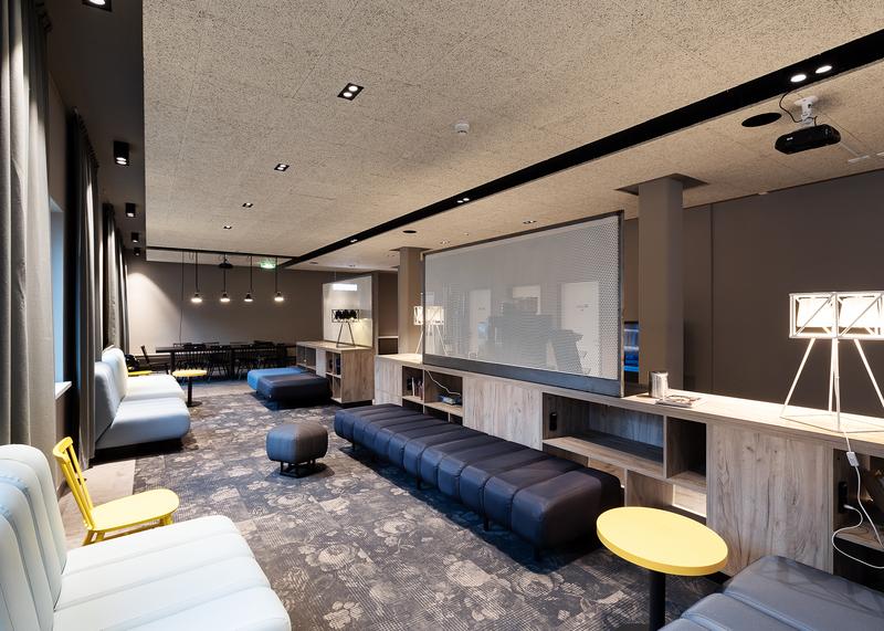 Sprachaufenthalt Deutschland, Berlin - DID Deutsch Institut Berlin - Accommodation - Hotel - Lounge