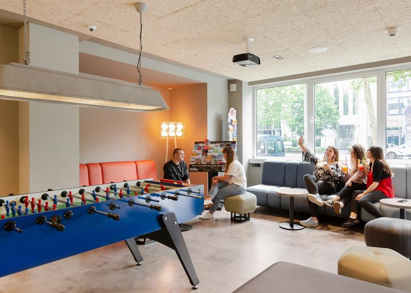 Sprachaufenthalt Deutschland, Frankfurt - DID Deutsch Institut Frankfurt - Accommodation - Residenz - Lounge