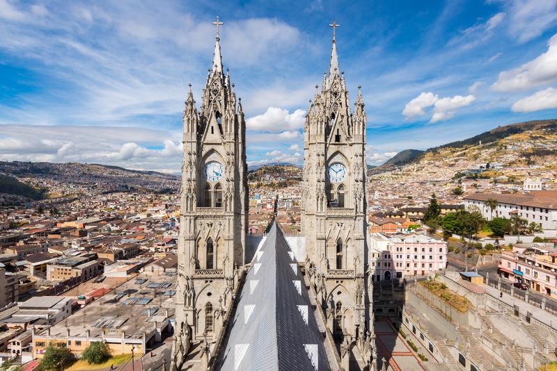 Séjour linguistique Équateur, Quito - Église