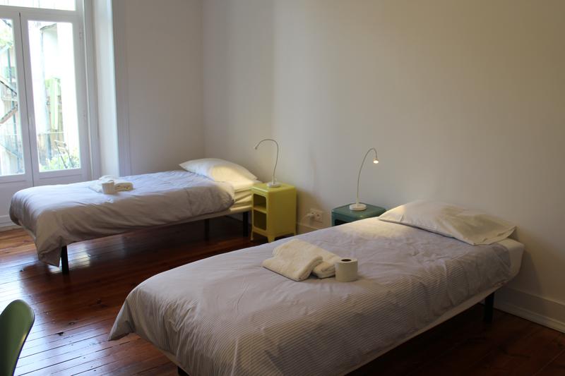 Sprachaufenthalt Portugal, Lissabon - CIAL Lisboa - Accommodation - CIAL Shared Apartment Lisboa - Doppelzimmer