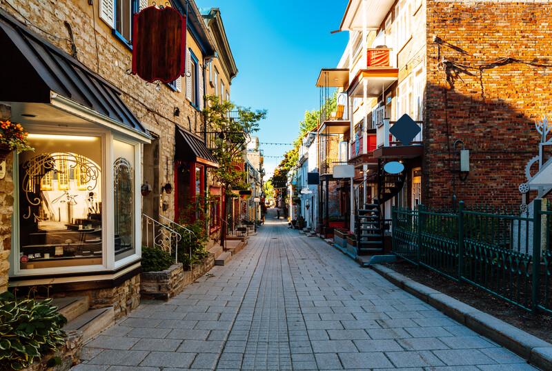 Sprachaufenthalt Kanada, Quebec - Altstadt
