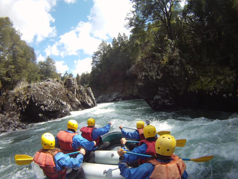 Séjour linguistique Argentine, Bariloche - Rafting