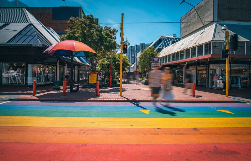 Séjour linguistique Nouvelle Zélande - Wellington - Cuba Street