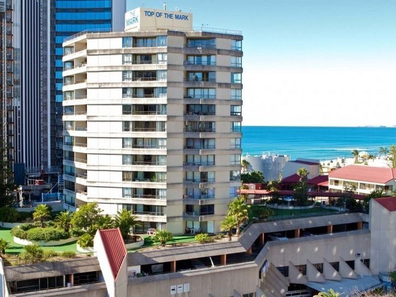 Sprachaufenthalt Australien, Gold Coast - Langports Gold Coast - Accommodation - Student Apartment Top of the Mark - Gebäude