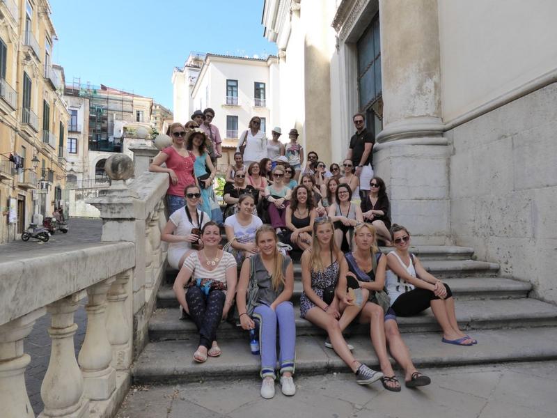 Sprachaufenthalt Italien, Salerno - Accademia Italiana - Studenten