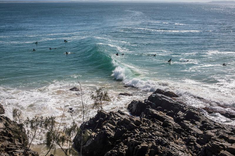 Sprachaufenthalt Australien, Noosa - Surfen