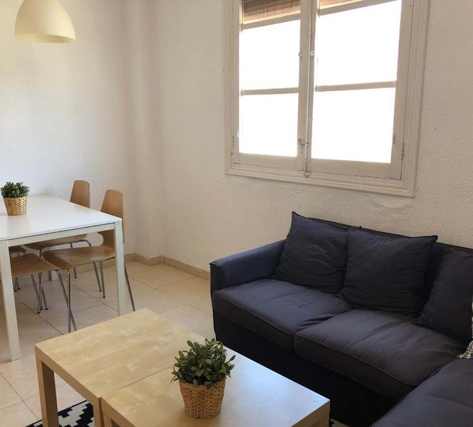 Séjour Linguistique Espagne, Valence - Maison internationale Valence - Logement - Appartement Marqués - Salle de séjour