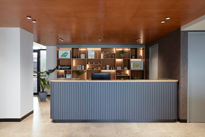 Sprachaufenthalt Australien, Melbourne - Discover English Melbourne - Accommodation - Apartment IGLU Studio - Rezeption