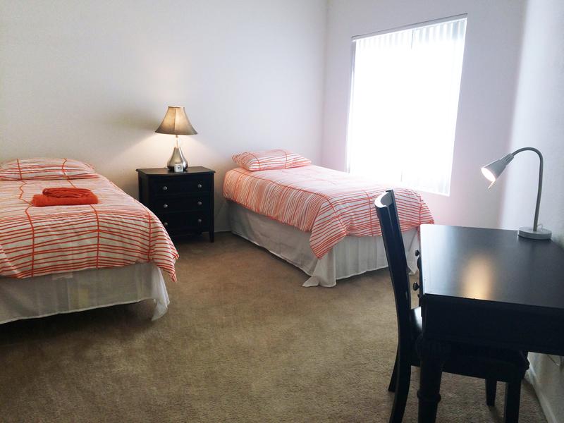 Sprachaufenthalt USA, San Diego - EC - Accommodation - Costa Verde Apartment - Schlafzimmer