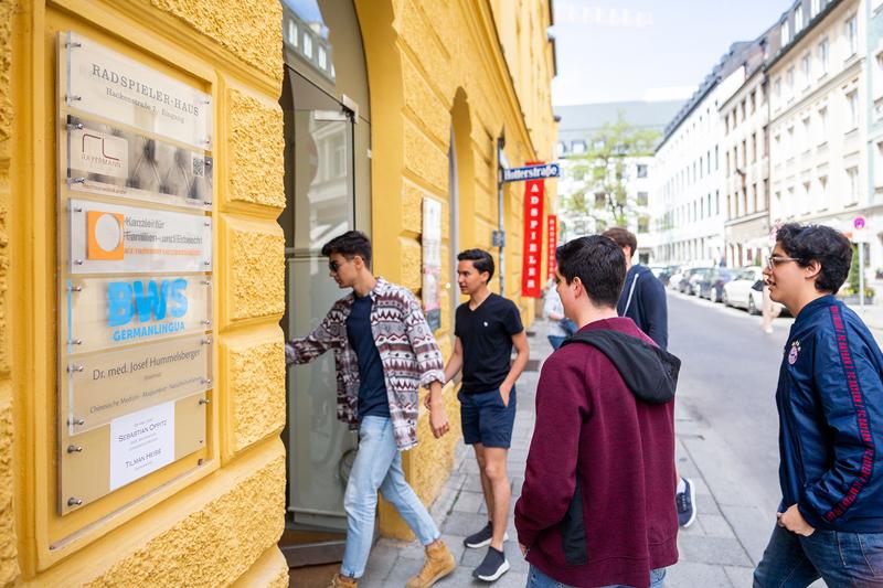 Sprachaufenthalt Deutschland, München - BWS Germanlingua Munich - Schule