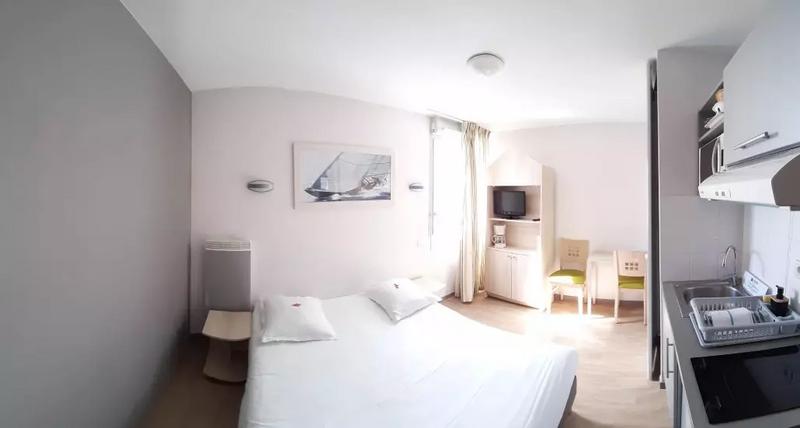 Sprachaufenthalt Frankreich, La Rochelle - Inlingua la Rochelle - Accommodation - Apartment Escale Marine - Zimmer