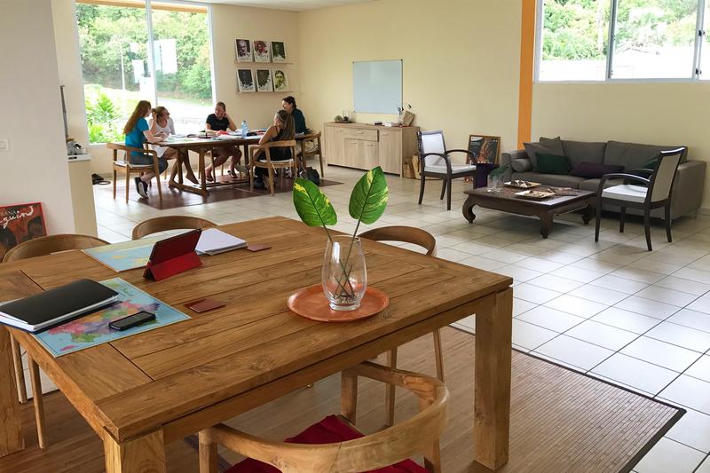 Séjour linguistique Tahiti, Puna'auia - Le Cours d'école Papara Tahiti - Classe