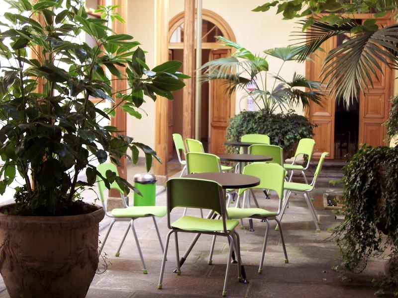 Séjour linguistique Columbie, Bogota - International House - Terrasse