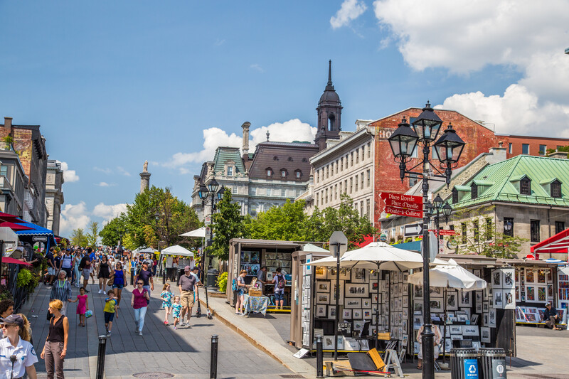 Séjour linguistique Canada, Montréal - Marché