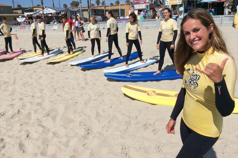Sprachaufenthalt USA, San Diego - Converse University of San Diego - Surfen