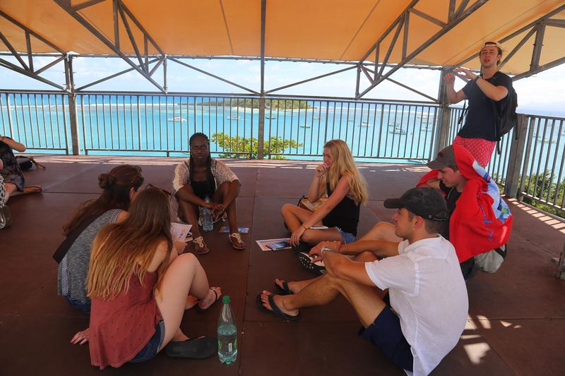 Sprachaufenthalt Guadeloupe, Le Gosier - IMLC - Studenten