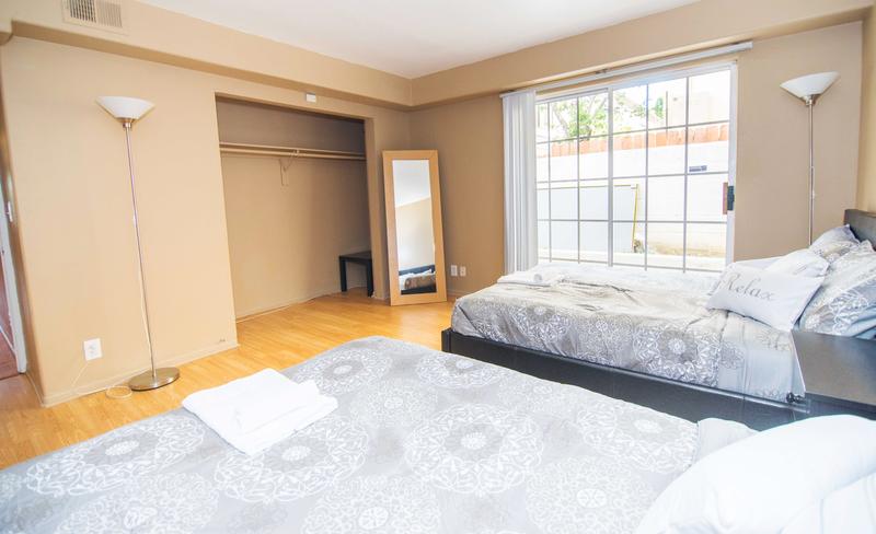 Sprachaufenthalt USA, Los Angeles - EC - Westwood Apartment - Doppelzimmer