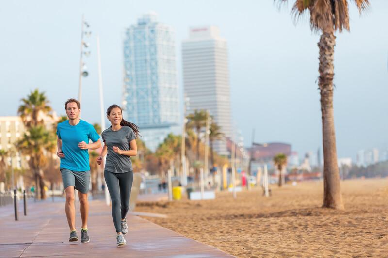 Séjour linguistique Espagne, Barcelone - Jogging