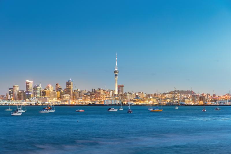Sprachaufenthalt Neuseeland, Auckland - Skyline
