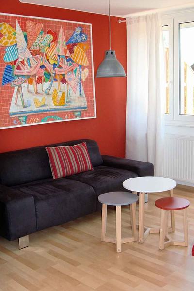Sprachaufenthalt Deutschland, Meersburg - Meersburg Academy - Accommodation - Apartment - Wohnzimmer
