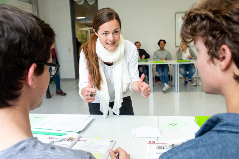 Séjour linguistique Allemagne, Freibourg im Breisgau - Goethe Institut - Leçons © Goethe-Institut Markus Schwerer