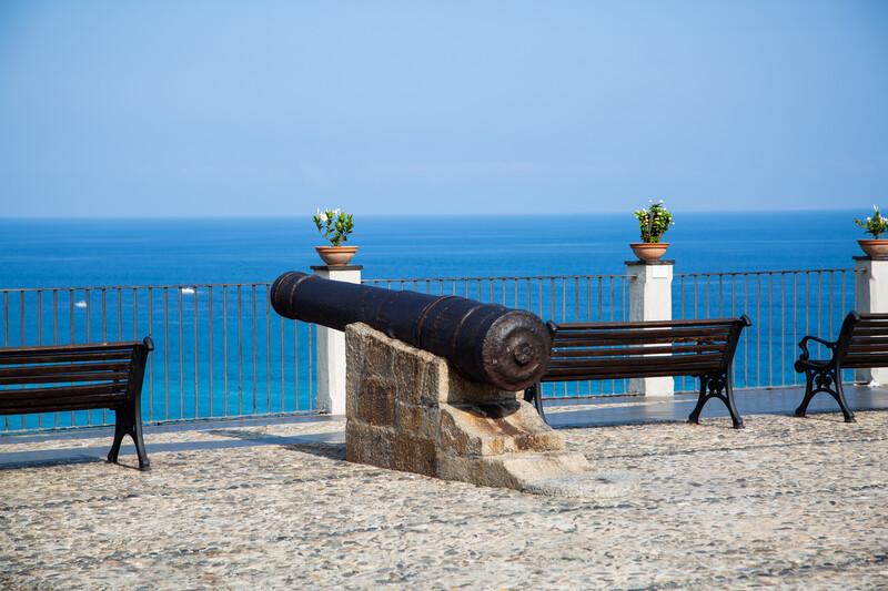 Sprachaufenthalt Italien, Tropea - Piazza del Cannone