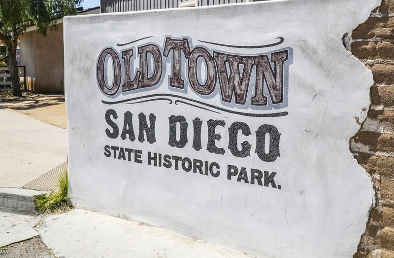 Old Town San Diego Historic State Park - SAN DIEGO - CALIFORNIA