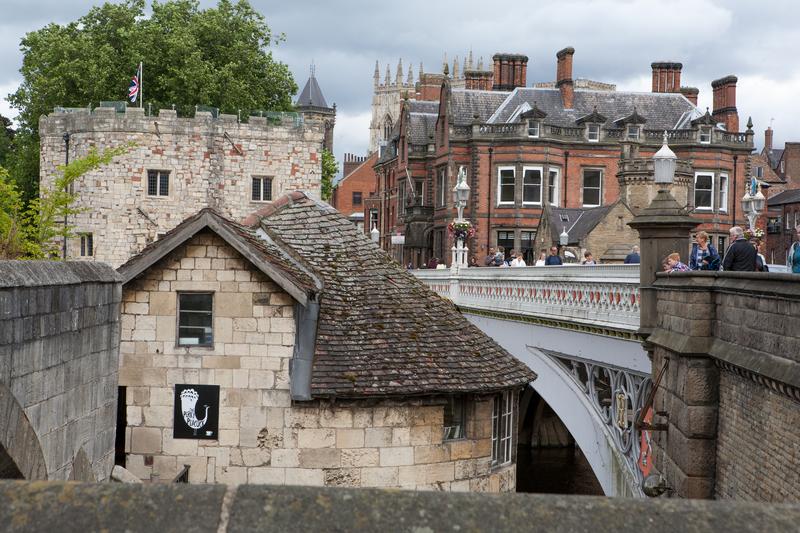 Sprachaufenthalt England, York - Brücke