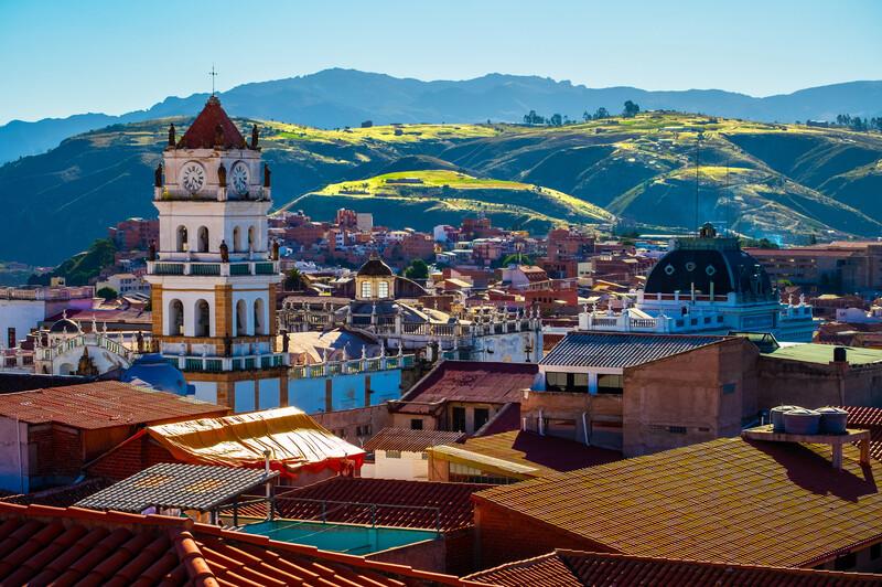 Séjour linguistique Bolivie, Sucre - Église