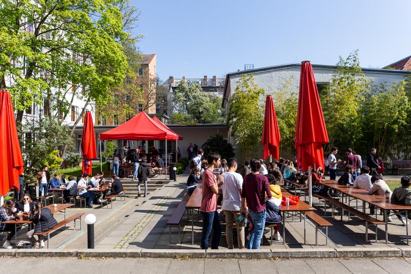 Sprachaufenthalt Deutschland, Berlin - GLS Sprachenzentrum Berlin - Terrasse