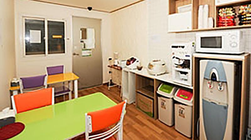 Sprachaufenthalt Korea, Seoul - Lexis Korea Seoul - Accommodation - Mini Studio - Küche