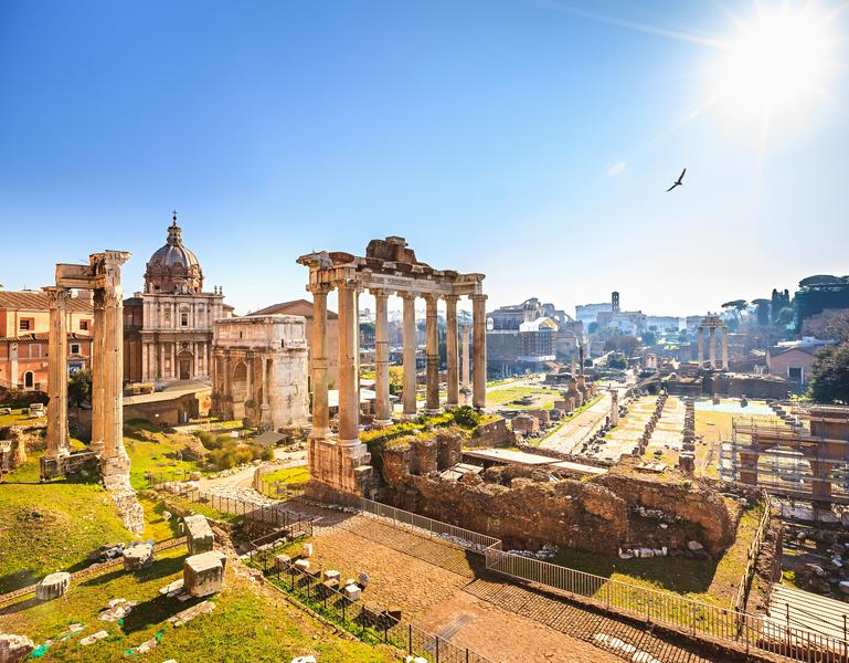 Sprachaufenthalt Italien, Rom - Forum Romano