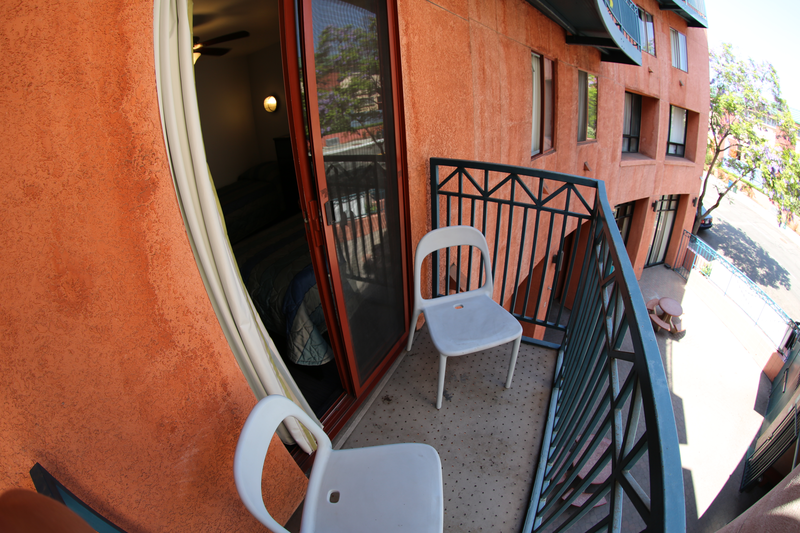 Sprachaufenthalt USA, San Diego - CEL San Diego - Accommodation - Residenz - Balkon